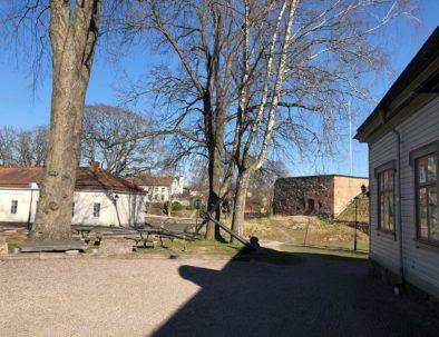 Ankarbild från vandrarhemmet