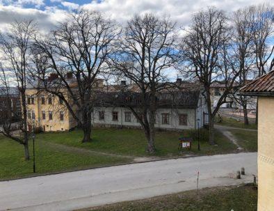 bild på nyköpingsvandrarhem från vallarna