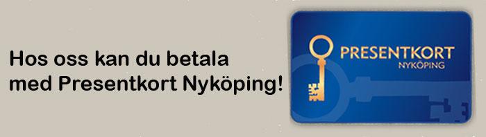 presentkort nyköping